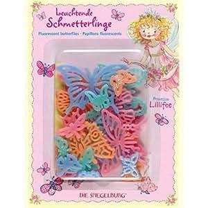 20087 die spiegelburg prinzessin lillifee leuchtende schmetterlinge spielzeug - Wandsticker prinzessin lillifee ...
