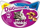 Whiskas Aperitivos para Gatos Duolicious, Disponible en Distintos sabores y tamaños