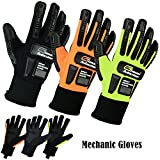 Arbeit Sicherheit Handschuhe für mechanic-garages-cycling & Motorrad Handschuhe Gr. M