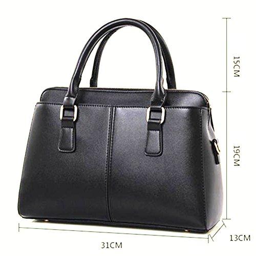 fanhappygo fashion Handtaschen Schulter diagonal Tasche beiläufige Handtaschen Frauen Handtasche schwarz