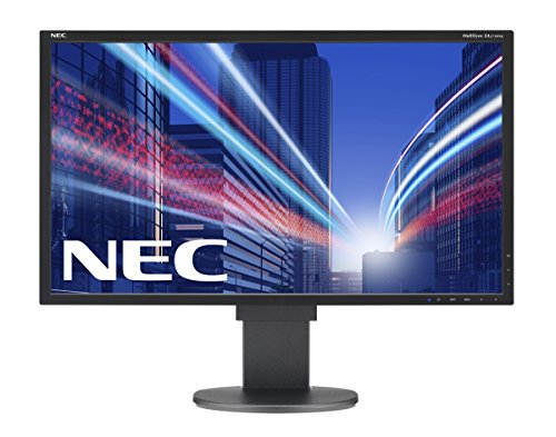 NEC Multisync EA273WMi 27 inch IPS LCD Monitor - Black (1000:1, 250 cd/m2, 1920 x 1080, 6ms, VGA/DVI/DP/HDMI)