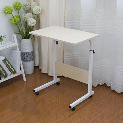 YUN-X Bureau d'ordinateur de Table Amovible Table d'ordinateur de Bureau (Couleur : Blanc)