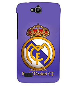 PRINTSHOPPII LOGO FOOTBALL Back Case Cover for Huawei Honor Holly::Honor Holly
