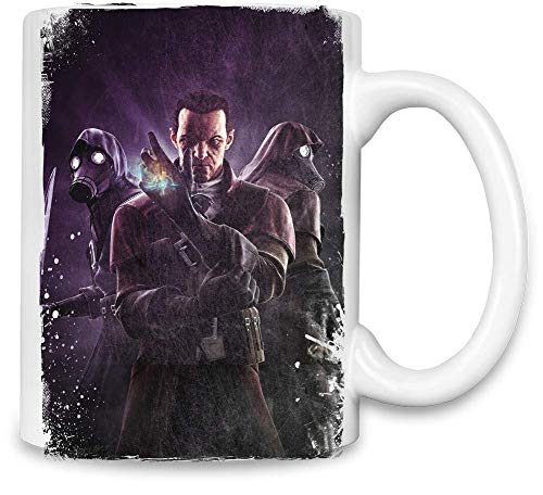 Style Matters Das Messer von Dunwall Daud Dishonored - Dishonored The Knife of Dunwall Daud Unique Coffee Mug | 11Oz Ceramic Cup| The Best Way to Surprise Everyone On Your Special Day| Custom Mugs by