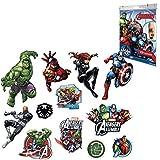 Marvel 1573 Avengers - Tatuajes (tamaño pequeño), multicolor