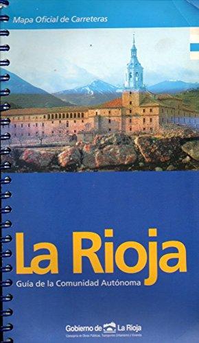 LA RIOJA. MAPA OFICIAL DE CARRETERAS. Guía de la Comunidad Autónoma. 1ª edición. Lig. mareado.