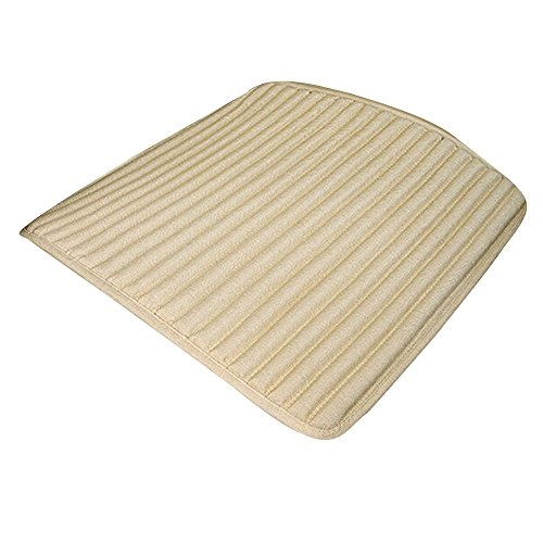 Holzkohle Grau Streifen (Bescita Sitzbezug, beige)