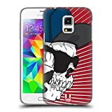 Head Case Designs Swagger Jung Totenkopf Showdown Ruckseite Hülle für Samsung Galaxy S5 Mini