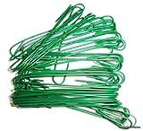 Christmas Ornament Hooks (Green, 2.5 inch)