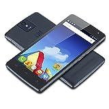 THL 2015A 4G-Smartphone Quad Core Dual SIM 5 Zoll IPS HD Screen Android 5,1 Handy ohne Vertrag 2GB+16GB GPS OTG Dual Kamera unterstützt GSM WCDMA LTE-FDD B1 B3 B7 B20 Schwarz