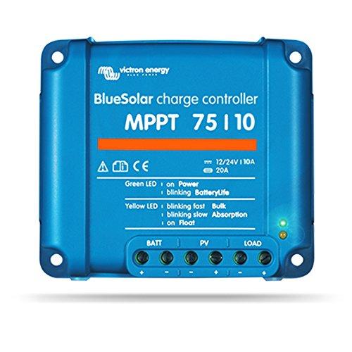 Victron Energy Victron Bluesolar MPPT 75/10 12V 24V 10A, 1 Stück, 8719076025306 -