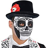 Amscan International Adults Day of the Dead Mask