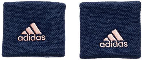 adidas Wristband S Tennis-schweißarmband, Collegiate Navy/Chalk Coral s18, OSFM -