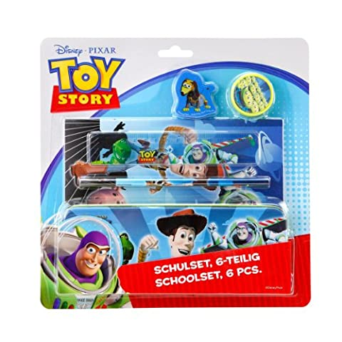 Undercover TS10645 - Toy Story Schulset 6-teilig