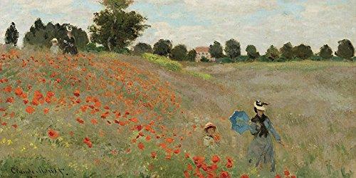 Impresin-sobre-lienzo-Canvas-Prints-Claude-Monet-Coquelicots-tamao-100-x-50-cm