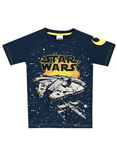 Star Wars Jungen Millennium Falke T-Shirt 134