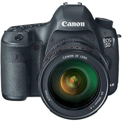 Canon EOS 5D Mark III + EF 24-105mm - Cámara digital (Auto, Nublado, Modos personalizados, Luz de día, Fluorescente, Sombra, Tungsteno, Paisaje, Retrato, Autorretrato, Manual, Película, Scene, Blanco y Negro, Neutral, Película, Imagen única, Presentación de diapositivas,