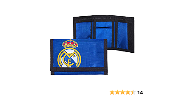 Real Madrid F.C Portefeuille en nylon BL Produit officiel