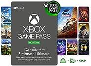 Xbox Game Pass Ultimate   3 Monate Mitgliedschaft   Xbox/Win 10 PC - Download Code