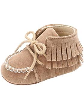 OverDose Baby Neugeborene Troddel Soft Sole Schuhe Jungen Mädchen Anti-Rutsch Kleinkind Krippe Prewalker Schuhe...