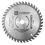 VONROC Lama per sega circolare universale, 150 x 16 x 2,0/1,1 mm, 40 denti. Ottima per legno