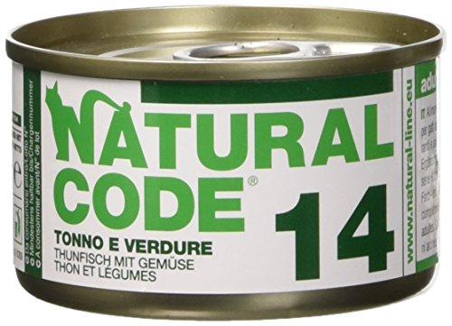 NATURAL CODE 14 Cat Thunfisch Gemüse Lebensmittel Wet Cat Premium- (Code Natural)