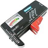 Big Bargain Universal Battery Tester AA AAA C D 9V Button Checker