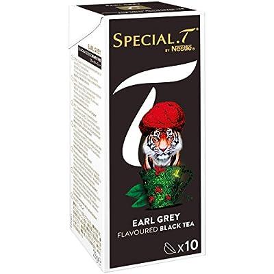 SPECIAL.T by Nestlé Thé Noir Earl grey Boîte 10 Capsules 23 g