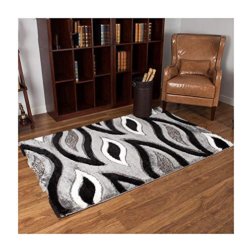 J. SCT -4 Large Area Soft Carpet Soft Touch Rug Thick Non-Slip Durable Luxury Art Living Room / Bedroom, 2,1.33x2.0m