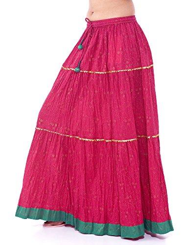 jnb-cotton-skirt-pdp-pnk-tier-women-indian-retro-falda-kjol-boho-hippy-jupe-rock-gypsy