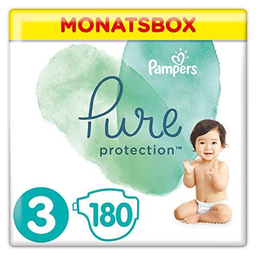 Pampers Pure Protection 81690517 pannolino usa e getta Ragazzo/Ragazza 3 180 pezzo