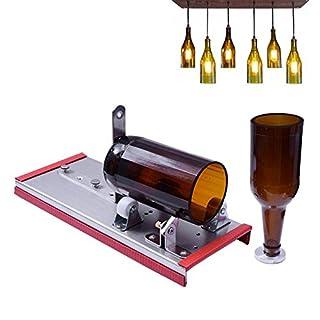 Aolvo Wein Glas Cutter, Bier Flasche Schneiden Kit Werkzeug Für Heimwerker, Wein  Flasche Lampe
