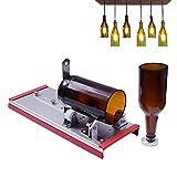 Aolvo Wein Glas Cutter, Bier Flasche Schneiden Kit Werkzeug für Heimwerker, Wein Flasche Lampe, Dekorationen, Creative Vase–viele anpassen Metall Flasche Maschinen mit Legierung Schere Kopf
