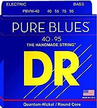 PBVW-40 Pure Blues Round Core Bass 4-Strings 40-95