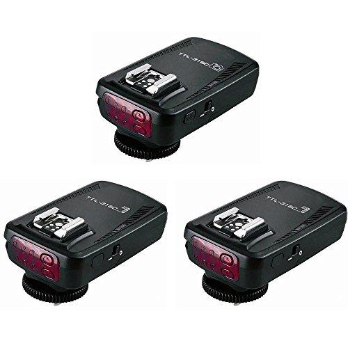 PHOTAREX TTL-316C High Speed E-TTL-Blitzauslöser bis 1/8000 Sek. für Canon + Zusatzempfänger
