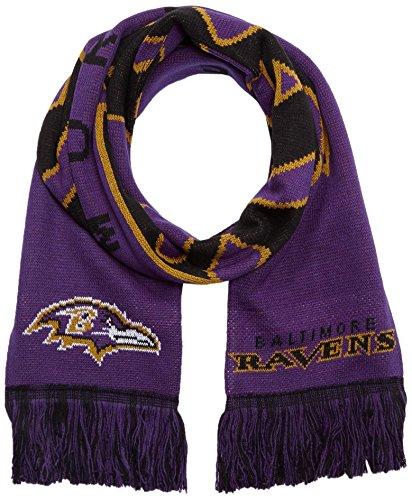 Forever Collectibles Schal NFL Baltimore Ravens Fanschal, Mehrfarbig, SVNF14WMBRVAM