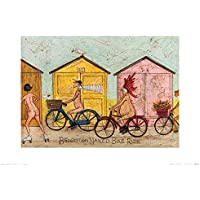 "Sam Toft ""Brighton Naked Bike Ride 30 x 40 cm de impresión"