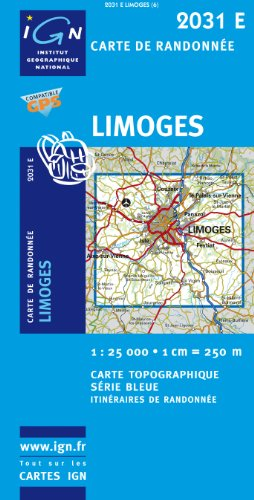 2031e Limoges par IGN