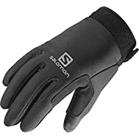 Salomon Nordic Junior - Guantes para niño, color negro, talla M