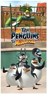 Madagascar-of-the penguins madagascar les pingouins de madagascar-serviette de bain, serviette de plage, serviette de bain-dimensions :  env. 150 x 75 cm-produit agréé original - 100 %  coton-départ immédiat