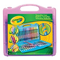 Crayola Twistables Case (32 Pack) (Case Colour May Vary - Purple, Blue, Yellow)