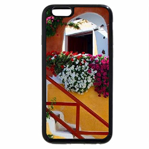 iPhone 6S / iPhone 6 Case (Black) Cave Houses