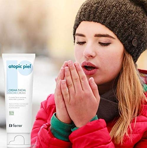 Atopic Piel Crema Facial, protección diaria para pieles secas o muy secas 50 ml