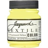 Jacquard Tessile Colore Tessuto Vernice 2.25 Oz fluorescenti Giallo