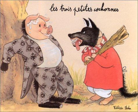 Les Trois Petites Cochonnes de Stehr. Frédéric (1997) Cartonné