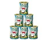 Dehner Best Nature Hundefutter Light Rind und Zucchini, 6 x 400 g (2.4 kg)