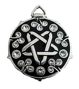 Yennefer medallion - 20 Swarovski crystals