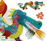 Puzzle géant Léon le Dragon - Djeco