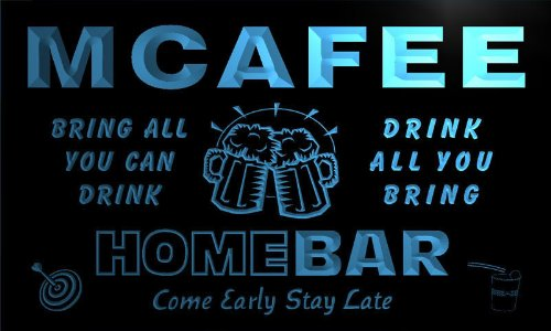 q29067-b-mcafee-family-name-home-bar-beer-mug-cheers-neon-light-sign