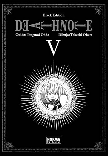 Death note Black edition 5 (CÓMIC MANGA) por Takeshi Obata Tsugumi Ohba